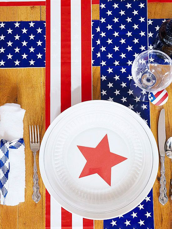 Fun Serving Ideas for a Patriotic Picnic