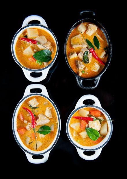 Thai Curry Chicken Pot Pie