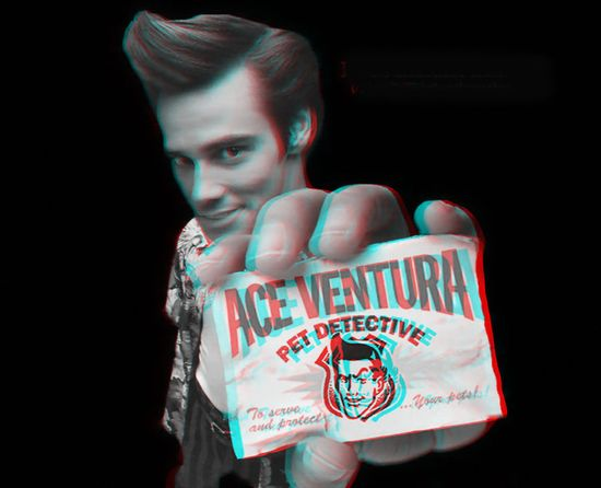 old school 3d art is called 3D Anaglyph