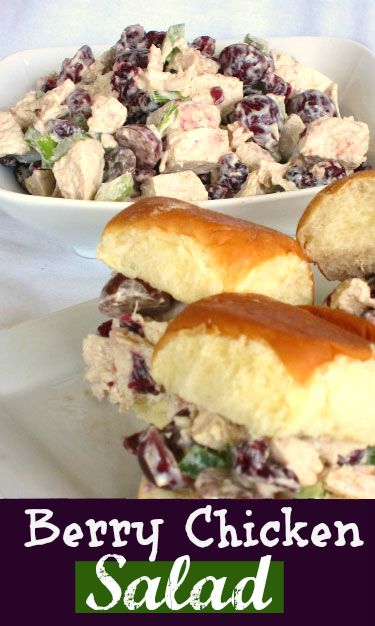 Chicken Berry Salad on MyRecipeMagic.com #chicken #salad