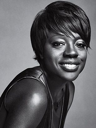"""Viola Davis ~ Actor ~ """"I remember sitting in a Broadway theater absolutely mesmerized by Viola Davis' performance as Tonya in August Wilson's play King Hedley II, for which she won her first Tony and Drama Desk awards. I have been consuming a diet of her extraordinary work ever since."""" ~ by Cicely Tyson"""