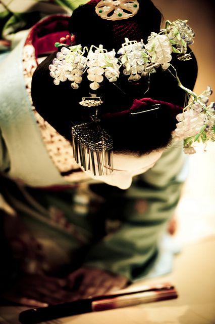Maiko's hair accessory -Kanzashi-