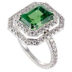 emerald and diamonds rings