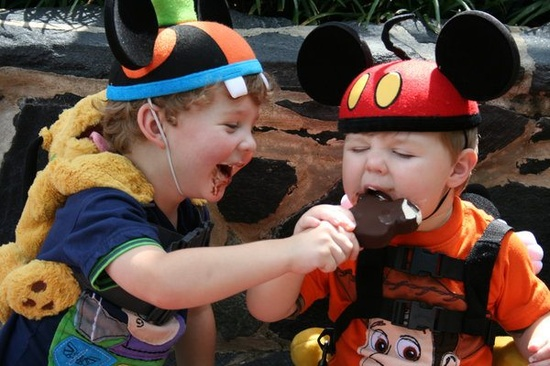 having the best time at Walt Disney World