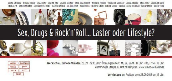 sex drugs .... - werkschau - 28-09/12-10 2012