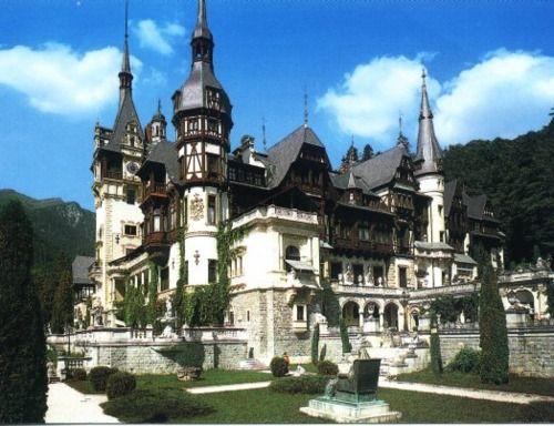 Peles Castle. Transylvania, Romania.