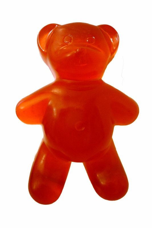 For the friend with a sweet tooth: Giant Gummi Bear Soap. $6.00.