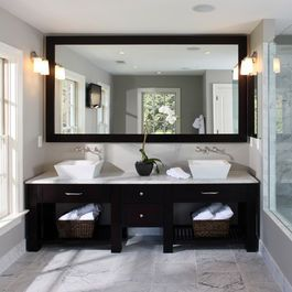 Grey And Yellow Bathroom Design Ideas, Pictures, Remodel, and Decor - page 4