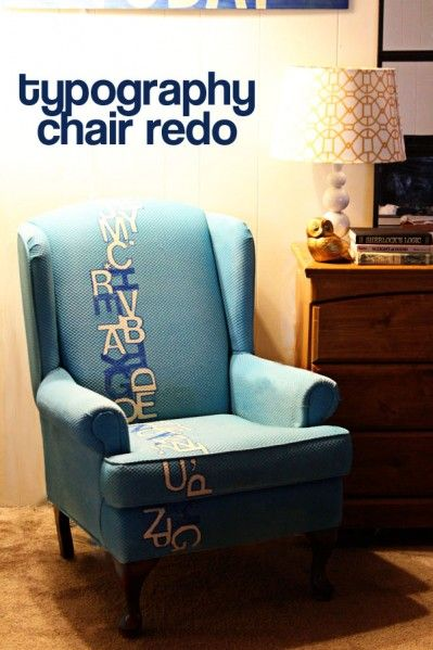 Love this idea, and love the spray upholstery spray paint!