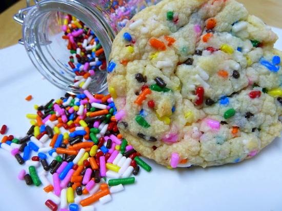 Cake batter cookies. enough said