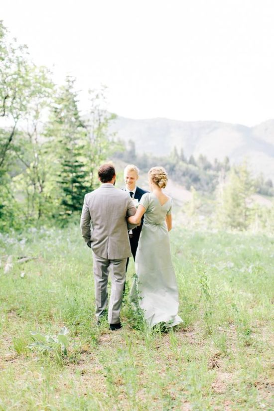 Mountainside Wedding