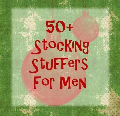 50+ Christmas Stocking Stuffers for Men