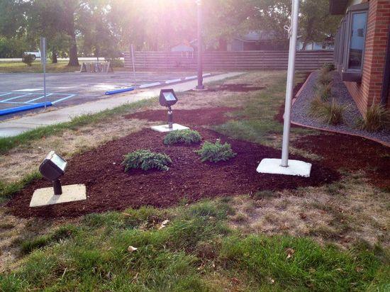 Garden Design for our flag Fall 2013