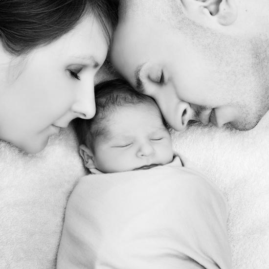 Beautiful newborn photo