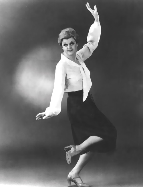 """Angela Lansbury in the 1970's Broadway revival of """"Gypsy"""""""