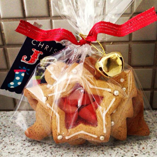 Christmas hand made gifts - gingerbread