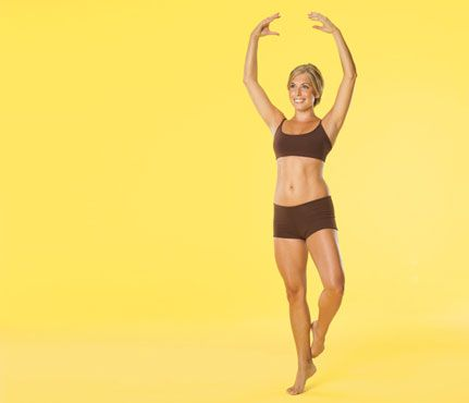 Ballet workout: Sculpt lean legs fast!: Workouts: self