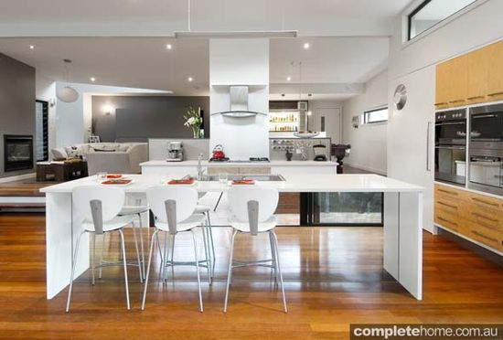 Modern kitchen design by enigma interiors
