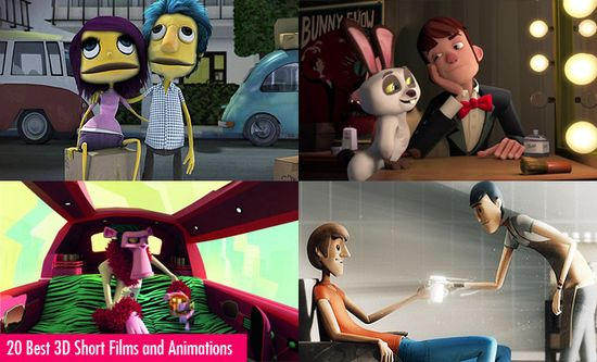 20 Awesome 3D Short Films and 3D Animations for your inspiration. Follow us www.pinterest.com...