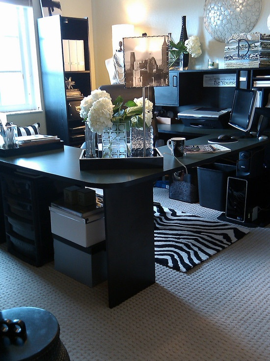 Glamorous Home Office Design