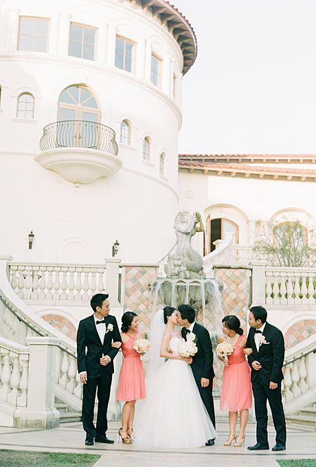 Romantic wedding.