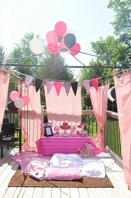 Girls party ideals