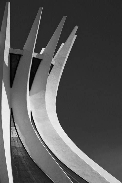Architecture l  White and Black