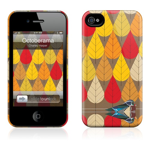 Octoberama by Charley Harper for the iPhone 4S, 4 HardCase