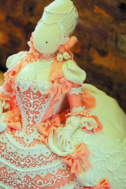 Close Up Marie Cake