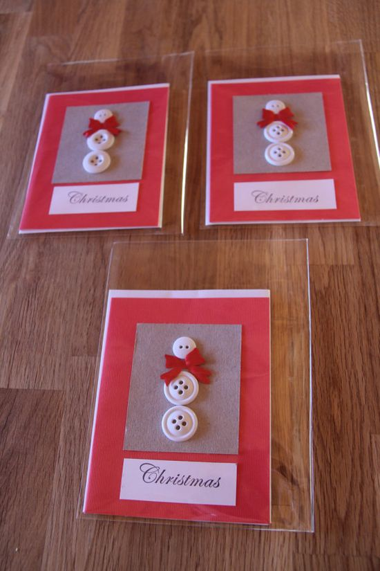 Handmade Cards Handmade Christmas Cards Handmade by MapleLeafLane, $8.00