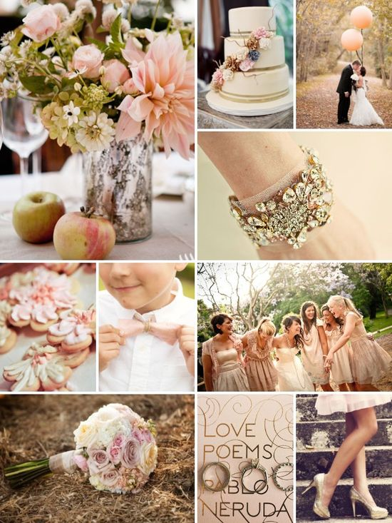Peach/gold is my fave