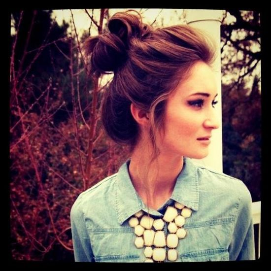 updo hairstyle