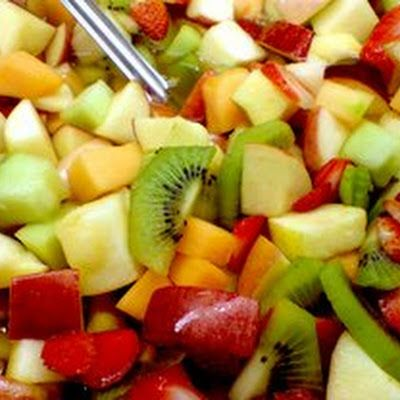 Fresh Fruit Salad with Orange Vinaigrette