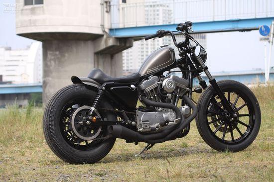 #Custom #Sportster by Hide #Motorcycle