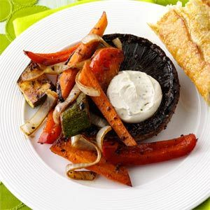 Taste of Home Quick Dinners Newsletter - July 4, 2012. Find this Vegetable-Stuffed Grilled Portobellos recipe, plus more dinner ideas ready in 30 minutes or less. Sign up for this FREE newsletter at www.tasteofhome.c...