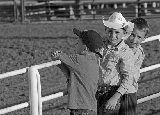 Boys at the Rodeo by Kansas Explorer 3128, via Flickr