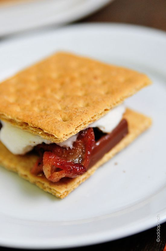 Bacon S'mores Recipe from addapinch.com