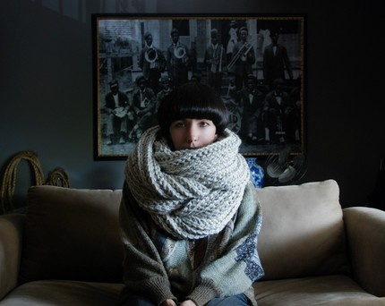 A scarf to lose yourself In