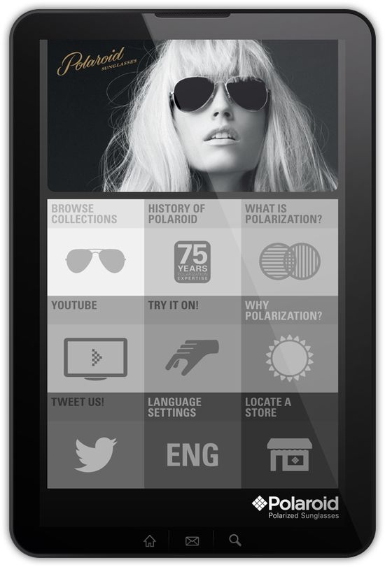 Polaroid App Concept