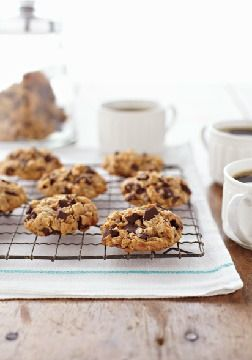 Peanut Butter, Oatmeal & Chocolate Chunk Cookies