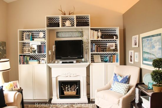 homey home design: Billy Bookcase Background Ideas