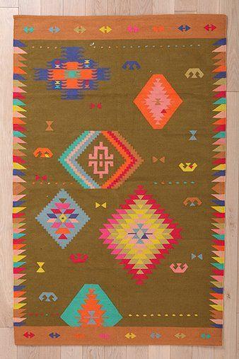 kilim rug by Beci Orpin.