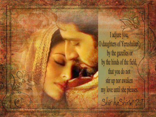Shir haShirim 2:7
