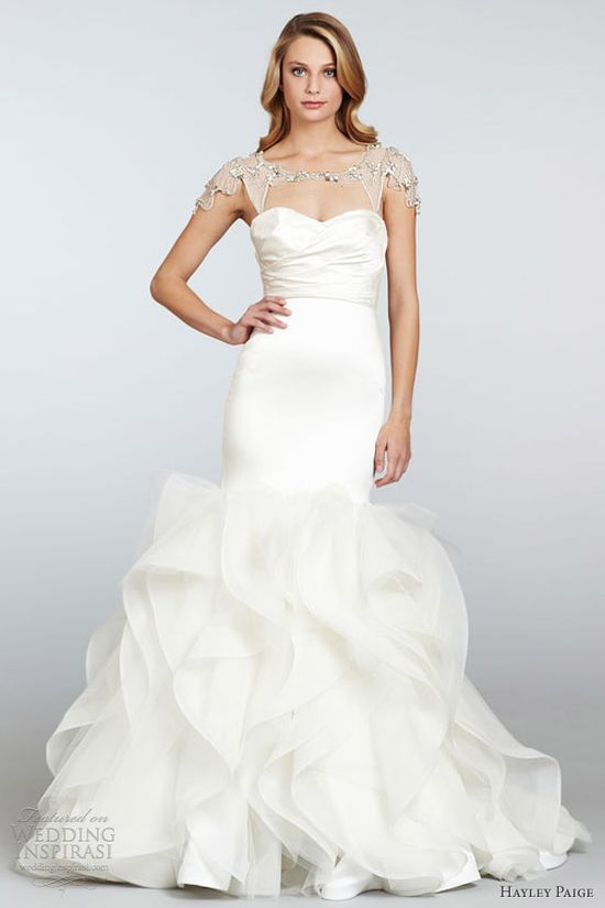 hayley paige wedding dress spring 2013 leighton