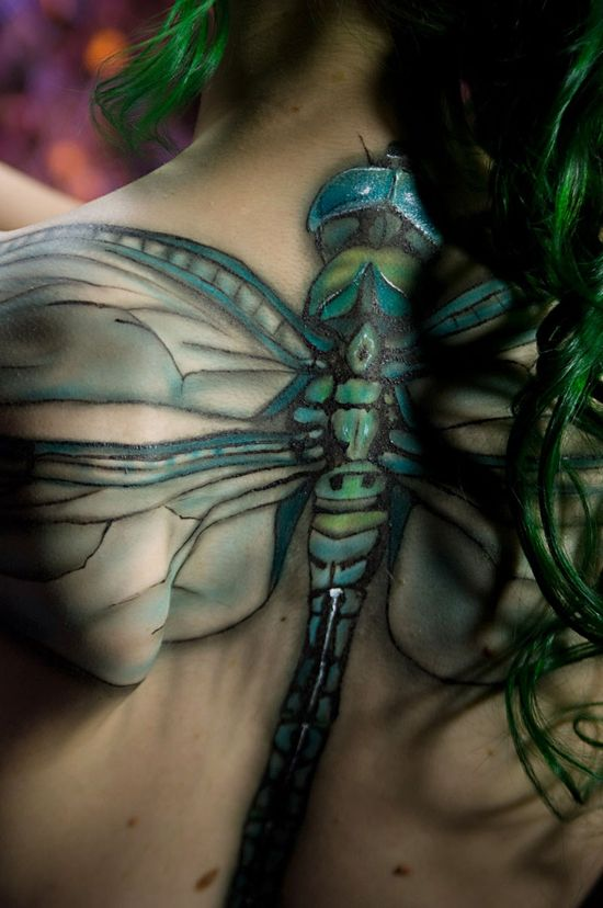 Dragonfly Tattoo amazing color