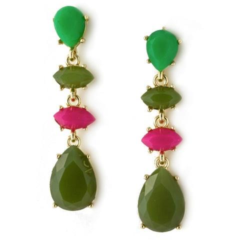 pink + greens = ?