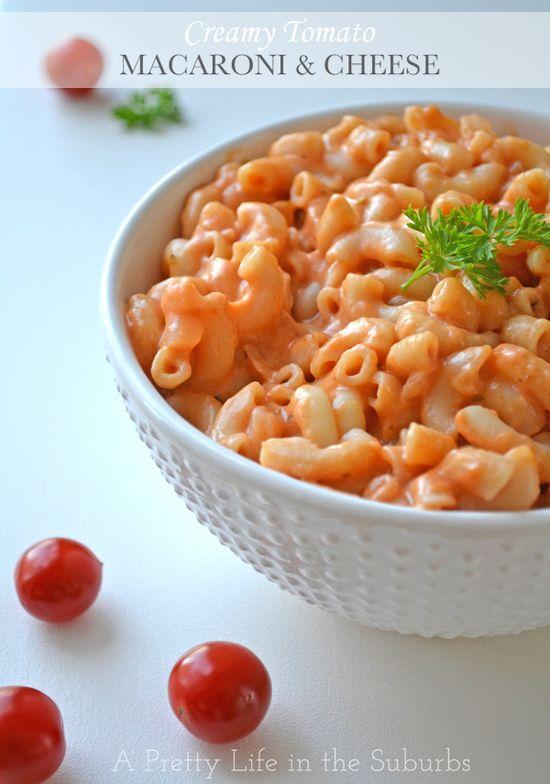 Creamy Tomato Macaroni & Cheese