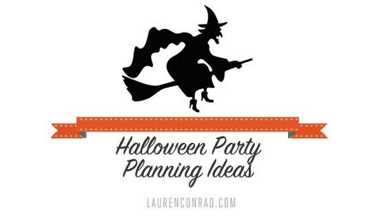 Halloween Party Planning Ideas + Tips