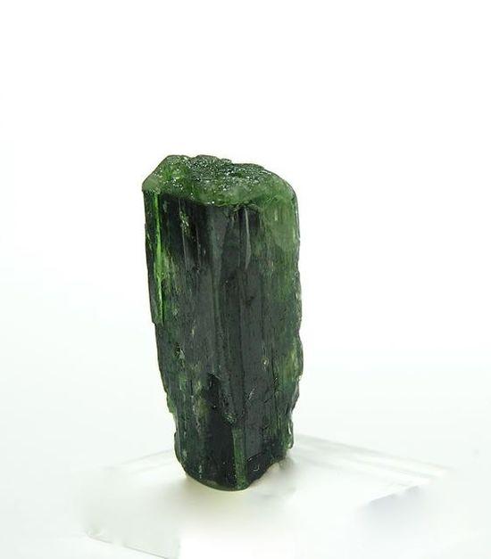 Gem Stick Emerald Green Chrome Diopside Gemstone by FenderMinerals,