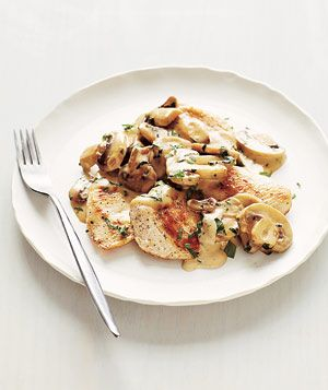 Chicken With Creamy Mushrooms Recipe
